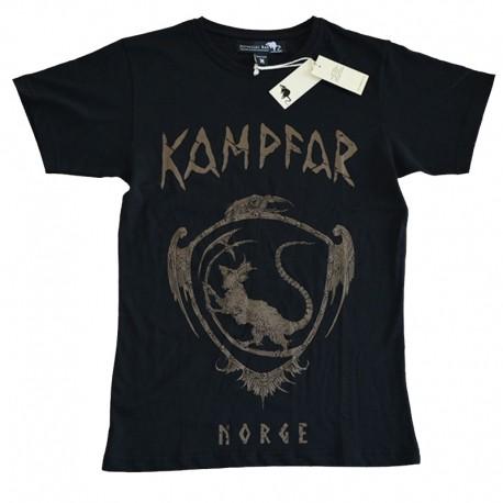 Kampfar-official-merch-tee-crest