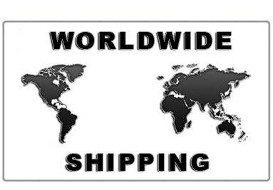 We offer free shipping worldwide
