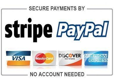 Secure Payment with Paypal and Stripe
